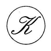 Artemio 18 mm K Stamp for Sealing-Wax, Gold