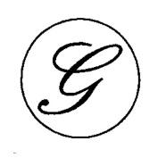 Artemio 18 mm G Stamp for Sealing-Wax, Gold