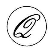 Artemio 18 mm Q Stamp for Sealing-Wax, Gold