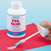 Washable PVA Glue with Integral Brush Children's Arts & Crafts Supplies Card Making & Scrapbooking Essentials