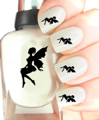 Easy to use, High Quality Nail Art Decal Stickers For Every Occasion! Ideal Christmas Present / Gift - Great Stocking Filler Fairy