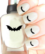 Easy to use, High Quality Nail Art Decal Stickers For Every Occasion! Ideal Christmas Present / Gift - Great Stocking Filler Bat