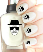 Easy to use, High Quality Nail Art Decal Stickers For Every Occasion! Ideal Christmas Present / Gift - Great Stocking Filler Breaking BAD