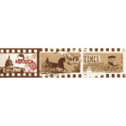 "RAYHER ""Old Times A Lands"" Washi Tape, Multi-Colour, 3 cm"