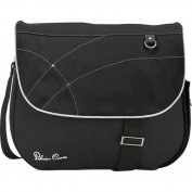 SILVER CROSS CHANGING BAG BLACK