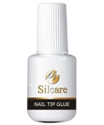 Silcare Nail Tip Glue with Brush 7.5g