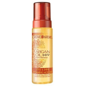 Creme of Nature with Argan Oil Style & Shine Foaming Mousse 210ml by Creme of Nature