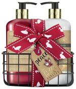 Baylis & Harding Fuzzy Duck Festive - Mulberry & Mistletoe Hand Wash & Hand Lotion Set