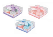 Invero® Pack of 12 Lovely Cupcake Bath Bombs Includes Raspberry, Blueberry and Sugar Plum Fragrances Ideal for Gift or Personal Use