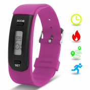Kids Fitness Tracker with Pedometer, Willful Fitness Activity Tracker Watch Step Counter Wristband Smart Bracelet Bands for Walking Kids ( Pedometers, Calories, Distance, Sleep Monitor ) Non Bluetooth, Non APP