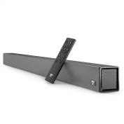 Soundbar, 40 Watt 90cm Strong Bass TaoTronics Sound Bar Wired and Wireless Bluetooth Audio Speakers for TV