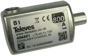Televes 404401 – LTE FILTER HR, CEI Connector, 47-782 MHZ C21–59