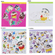 Crayon Shin-Chan's note book square memo pad planet stationery made in Japan anime anime manga cinema collection