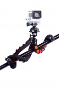 XSories BITRI2/BLA-ORA Big Bendy Flexible Tripod with 0.6cm Universal Mount for Digital and Action Sports Cameras