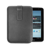 Cover-Up for Samsung Galaxy Tab 2 7.0 (18cm Wi-Fi) Tablet Pouch Case (with Pull-Tab) - Black