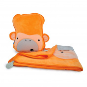 Trunki SnooziHedz Travel Pillow and Blanket - Mylo the Monkey