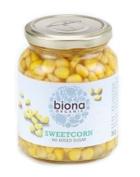 Biona Organic - Jarred Vegetables - Sweetcorn - 360g