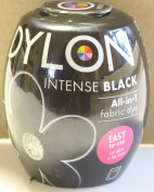 DYLON Machine Dye Pod, Intense Black, easy-to-use fabric colour for laundry, 350g