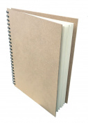 Artway Enviro - Wiro Bound Sketchbook - 100% Recycled Cartridge Paper - Hardboard Cover - 170gsm 35 pages