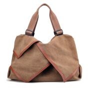 LOSMILE Women's handbag Canvas Shoulder Bag Large Hobo Tote Bags Ladies Top-Handle Casual Beach Holiday Weekend Bags.
