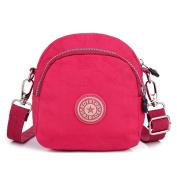 SUNRAY-BUY Women's Multi Pocket Casual Travel Bag Waterproof Nylon Messenger Cross Body Bag Tote Purse
