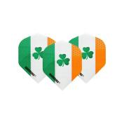 F2084 Winmau Irish Shamrock Standard Dart Flights - 4 sets per pack