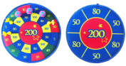 Solex 43371 Hook and loop Darts Game Set 39 x 39 x 5 cm Colourful