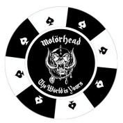 Motorhead The World Is Yours - Round Photo Fridge Magnet/Bottle Opener