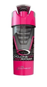 Cyclo Unisex Cyclone Cup Shaker Protein Mixer Bottle 20oz, Pink, 20 Oz/568 ml