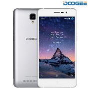 SIM Free Mobile Phones, DOOGEE X10 Dual SIM Unlocked Smartphones, 3G 6.0 Android Phone with 13cm IPS Screen - 3360mAh Large Capacity Smartphone - 5MP Camera with Flash - MT6570 cortex-A7@1.3 GHz - 8GB ROM - Silver