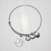 Alloy Bracelet With Cross And Lettering Family Love Friend