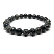 GOOD.designs Chakra Bead Bracelet made of natural Jasper stones - Jewellery for Men and Women
