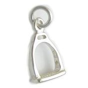Stirrup sterling silver charm .925 x 1 Stirrup Horses stirrups charms DKC38571