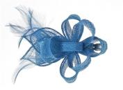 Alexandra Sinamay & Feather Slide Fascinator, from Elegance Boardmans