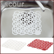 It is Rakool sink mat white red Richell _at the time of choice_