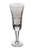 Royal Brierley Fuchsia Champagne Flute Glass, Clear