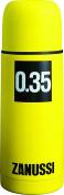 Zanussi Vacuum Flask, Yellow, 0.35 Litre