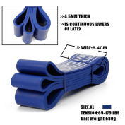 Resistance Bands - Pull up Bands - Exercise Loop Band for Body Stretching, Powerlifting, Resistance Training - Single unit