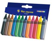Playbox 2470504 Wax Crayons, 100 x 11 mm