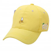 Summer Baseball Caps, Familizo Women Fruit Embroidered Golf Hats