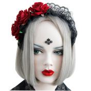 Lady Girls Pearl Crown Hairband Festival Party Wedding Bridal Headband