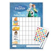 FROZEN POTTY TOILET TRAINING reward Chart + Pen & Free Star Stickers - FRO2T