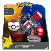 Pokemon T18889D2CHARMANDER Clip N Carry Belt with Charmander Figure and Fire Type Poke Ball