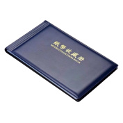 RICISUNG Banknote Currency Collectors Album Pocket Storage 30 Pages