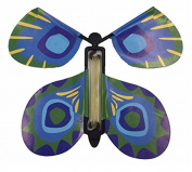MAGIC PRANK BUTTERFLY FLYING FLUTTERING TOY BIRTHDAY FUNNY GIFT PARTY CARD (F2