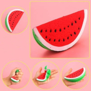 Slow Rising Squeeze Toy,MEIbax Jumbo Slow Rising Squishies Toys Scented Squeeze watermelon Stress Relief Toy