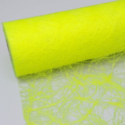 SIZOWEB Table Runner 30 cm Roll 25 Metres – 64 142 R 300 Neon Yellow
