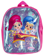 Boys Girls Character Backpack Shimmer and Shine Genie Bling