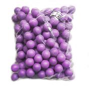 Lakikey 150Pcs Solid Colour Scrub Table Tennis Ball Ping Pong Ball Lottery Game Entertainment Toys Pet balls