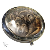 Lisa Parker Loyal Companions Compact Mirror